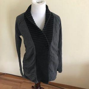 Lululemon Gray Button Front Cardigan Size 6